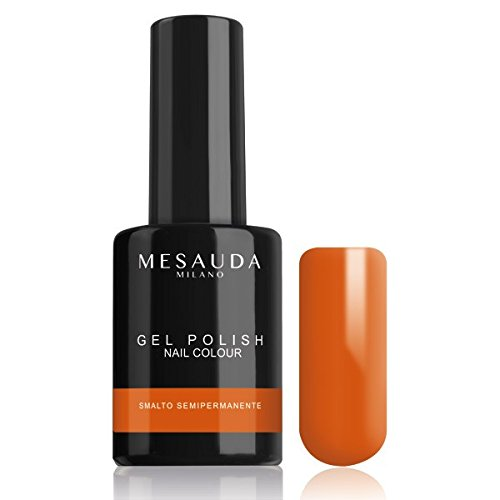 Semi-permanenter Nagellack Politur Gel Polish Nagelfarbe 27 Cantaloupe 10 ml Mesauda