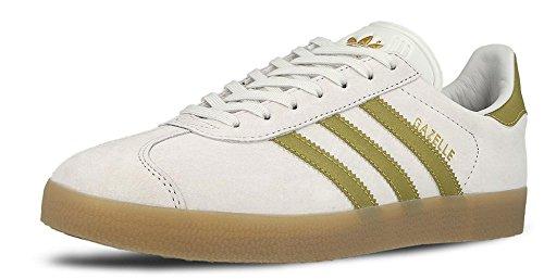 adidas - Gazelle, Scarpe da Ginnastica Unisex Adulto, Blu (Collegiate Navy/White/Gold Met), 41 1/3 EU