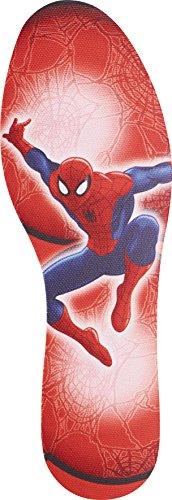 Pad Bett Pack (Disney Spiderman Einlegesohle zum Zuschneiden für Kinder und Jugendliche, hält die Füße schön frisch, 1er Pack (1 x 2 Stück))
