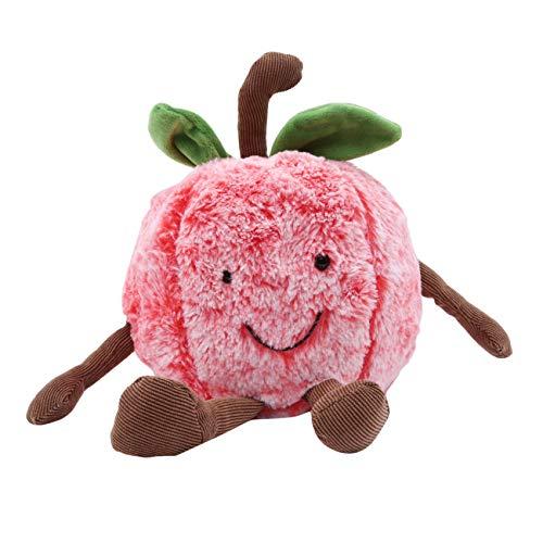Bigsweety Kreative Niedlichen Ausdruck Obst Plüsch Spielzeug Kissen Wohnzimmer Dekoration Kissen Kinder Puppe (Kirsche) (Obst-plüsch-kissen)