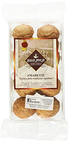 Dolci aveja amaretti biscotti alle mandorle morbidi artigianale - 350 gr