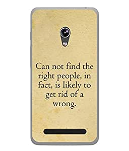 Fuson Designer Back Case Cover for Asus Zenfone 5 A501CG (more difficult it is for them to )