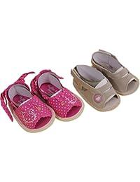 Hello Kitty - Chaussures Bébé Lot de 2 Hello Kitty Couleur - Beige, Taille - 0/6M