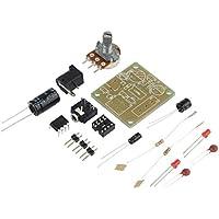 EmNarsissus DIY Amplificador Mini Módulo de Tarjeta de Alto Rendimiento 3V-12V Amplificador de Audio Módulo Compacto Accesorios Electrónicos (Azul)