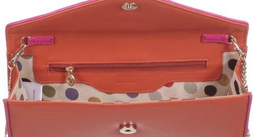 Belmondo 309139AB, Pochette donna, 27x13x4 cm (L x A x P) Rosa (Pink (corallo combi))