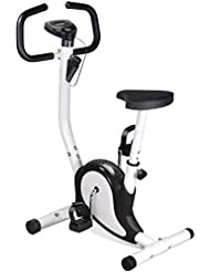 OUTAD Training Exercise Bike LCD Display Comfortable Sponge Adjustable Height Saddle Indoor trainer Bike UK BU