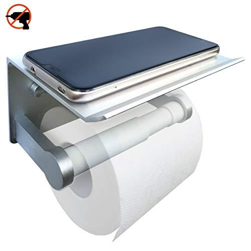 Porta carta igienica accessori bagno adesivi murali 3m mensole da muro design portarotolo arredamento casa senza foratura mobile portacarta