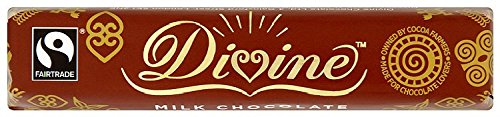 Price comparison product image Divine Fairtrade Milk Chocolate 40 g (Pack of 10)