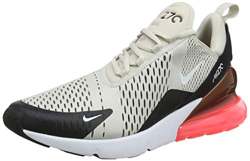 Nike Air MAX 270, Zapatillas de Gimnasia para Hombre, Negro Black/Lt Bone/Hot Punch/White 003, 45...