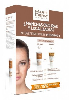 KIT DESPIGMENTANTE MANCHAS OSCURAS (DSP-COVER+DSP MASK)