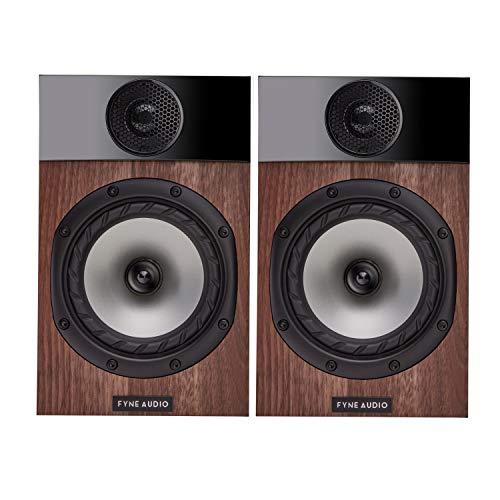 Fyne Audio F300 Bookshelf Speakers - Walnut
