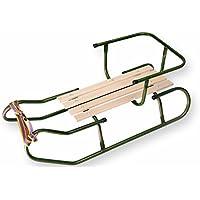 Best For Kids Schlitten für Kinder Rückenlehne und Schiebegriff FASTY in 3 Farben