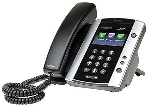 Polycom VoIP VVX500 Desk Phone - (Linea Voip Telefono Desktop)