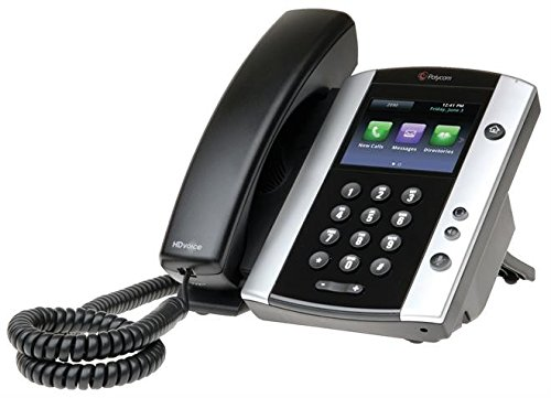 25 Desktop Telefon VoIP VVX500 schwarz ()
