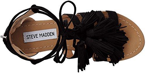 Steve Madden Monrowe Black Suede