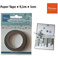 Marianne Design-Nastro di carta, motivo: cristalli di ghiaccio, PT2321