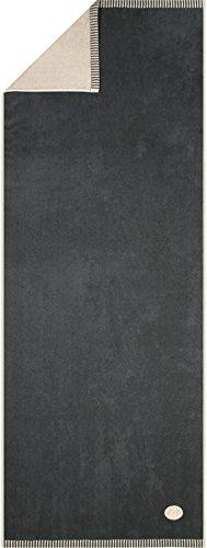 Egeria–Sauna panno–Ben (17025), Gravel (021), Saunatuch (75x200) Slate Grey (082)