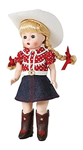 Madame Alexander Boots and Bling 8 Doll