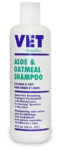 Aloe and Oatmeal Dog Cat Shampoo Vet Solution