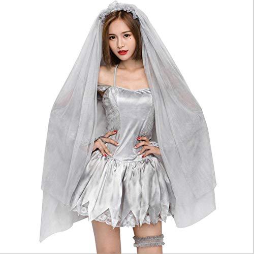 AIYA Trockenes Leichenkunst-Fotoservice Halloween-Kostüm der schönen neuen - Asche Kostüm Für Erwachsene