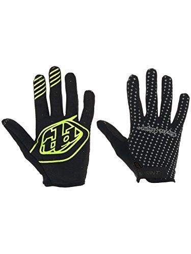troy-lee-designs-sprint-bike-glove-grey-black-size-l-2017-full-finger-bike-gloves