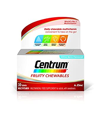 Centrum Fresh & Fruit Multivitamin Tablets, Pack of 30 by Centrum