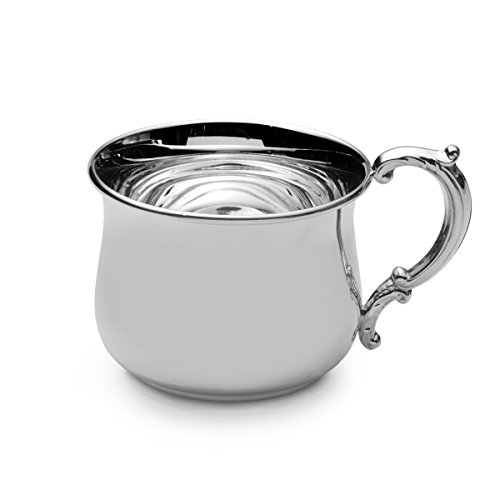 Empire Sterling Silver Bulged Baby Cup by Empire Silver Sterling Baby Cup