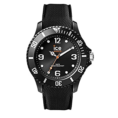 Ice-Watch - Ice Sixty Nine Black - Reloj Negro para Hombre (Unisex) con Correa de Silicone