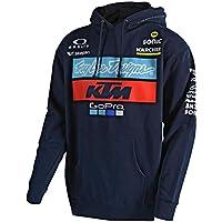 Troy Lee Designs Felpa con Cappuccio Bambino KTM 2018 Team Blu Scuro e6c8acfb7ec