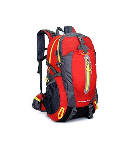 Wmshpeds Sacchetto di alpinismo professionale di 40L multifunzionale sacchetto di spalla degli uomini e della borsa dello spalla dello sport A