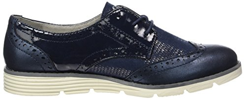 Blu 23623 Stringate Scarpe Soliver Navy Comb Donna Oxford wUxa7Xn