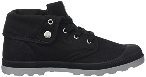 Palladium - Baggy Low Lp F, Pantofole a Stivaletto Donna Nero (Black/wild Dove)