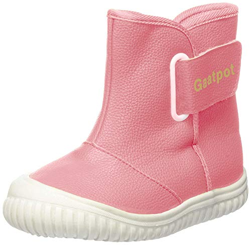 Gaatpot Baby Fur Lining Winter Boots Boys Girls Toddler Waterproof Warm Snow Boots