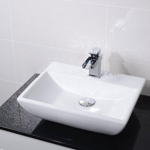 Better Bathrooms ® Countertop Sink Bathroom Basin Bowl White Ceramic