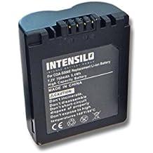 INTENSILO Li-Ion batteria 750mAh (7.2V) per fotocamera digitale DSLR Leica V-Lux 1 sostituisce Leica BP-DC5.