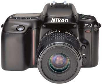 Nikon F 50 Spiegelreflex 35 mm Kamera
