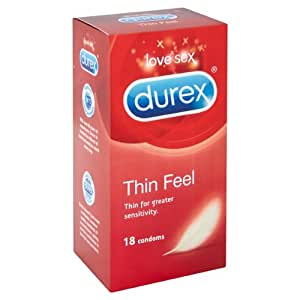 Durex Thin Feel Condoms (Pack of 18)