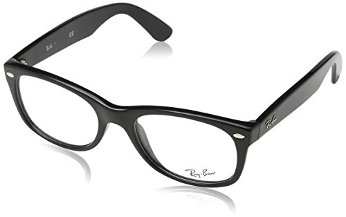 Ray-Ban RAYBAN Unisex - Erwachsene Brillengestelle 0rx 5184 2000 52, Schwarz (Black)