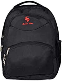"Swiss Star Black Laptop Bag Backpack For Office Man/Woman, Laptop Bags 15.6"" For College/School/Travelling Compatible..."
