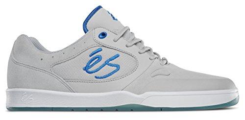 ES Herren Swift 1.5 Skate-Schuh, Grau - hellgrau - Größe: 44 EU (M) - Grau Wildleder Skate Schuh