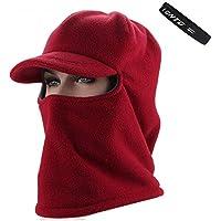 ITODA Unisex Winter Balaclava Hood Hat Neck Warmer Fleece Thermal Thicken  Ski Mask Windproof Full Face 376d15f70cc8