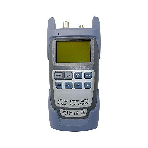 All-in-One Faser Optisches Leistungsmessgerät 70bis + 10dbm und 10mW 10km Faser Kabel Tester Visual Fault Locator