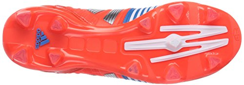 Adidas, Nitrocharge 2.0 FG,  Scarpe Sportive, Uomo Rosso (Rot (Infrared / Metallic Silver / Running White))
