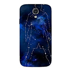 Stylish Star Man Multicolor Back Case Cover for Samsung Galaxy S4