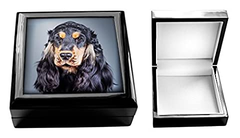 English Cocker Spaniel Dog Jewellery Box
