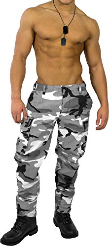 US Rangerhose Freizeithose Rangerhose BDU Style Farbe Urban Größe XL (Urban Camouflage)