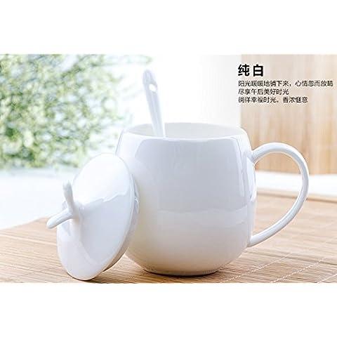 Tazas de cerámica minimalista parejas Bone china mug taza taza de café taza de leche taza tazas de desayuno