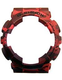 Casio G-Shock Lünette Bezel camouflage-rot für GA-100CM GA-120CM 10466418