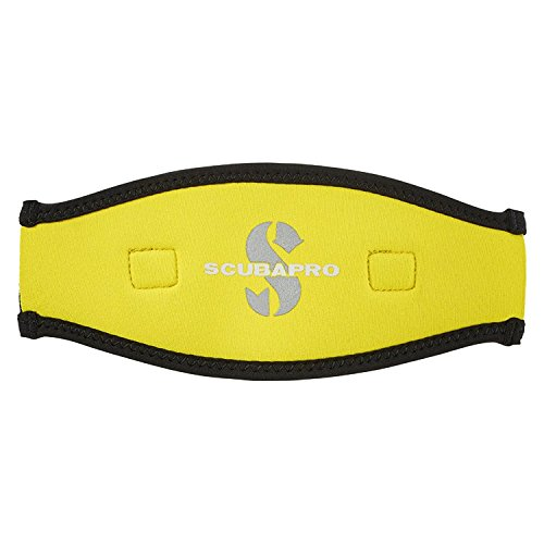 Scubapro Maskenband, 2.5 mm Neopren (Farbe: gelb)