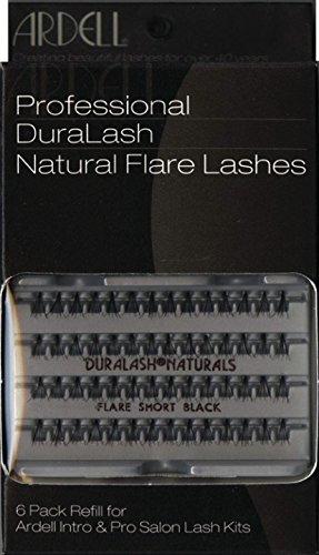 Ardell Value Salon Pack 6 x 56 SHORT Black Cils Individuels